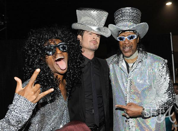 Tommy Davidson, Robin Thicke & Bootsy Collins
