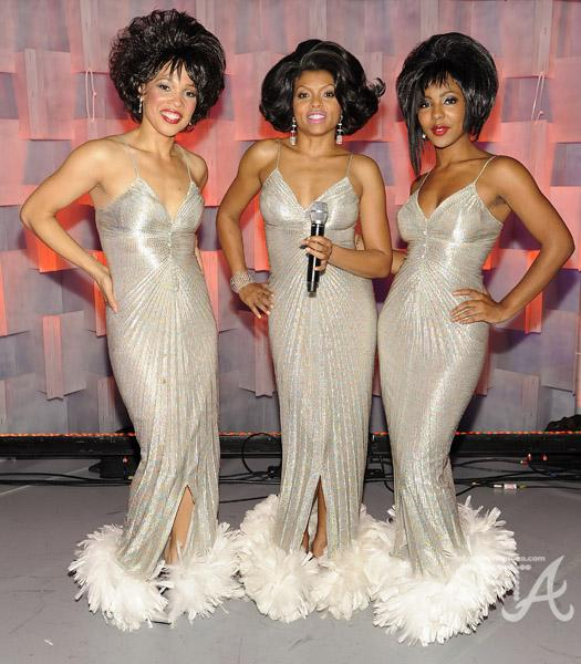 Taraji P. Henson as Diana Ross (center)