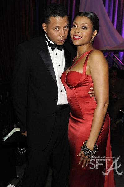 Hosts Terrence Howard & Taraji P. Henson