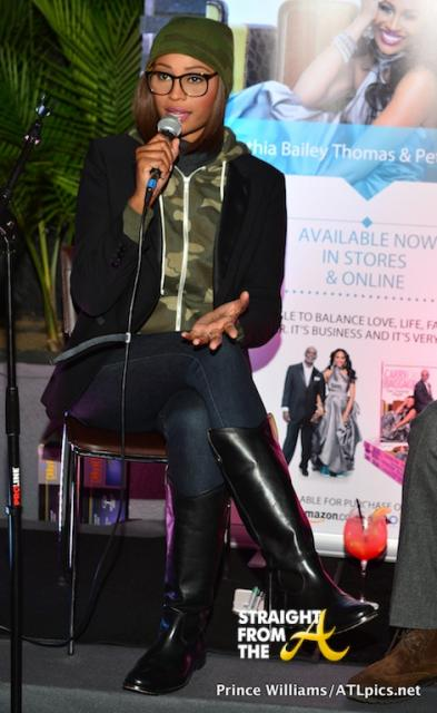 Cynthia Bailey Peter Thomas Book Launch Bar One StraightFromTheA-10