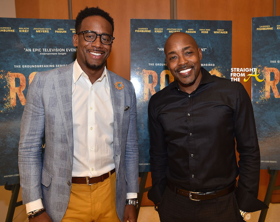 Jeff Johnson and Will Packer